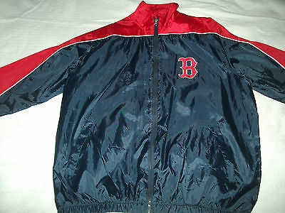 Boston Red Sox Training Jacket. Adult Large -52 Inches .excellent Shape.