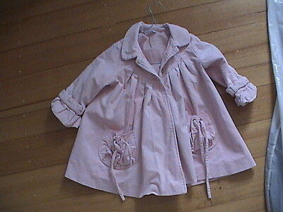 Girl's Bebe By minihaha Coat Jacket size 2
