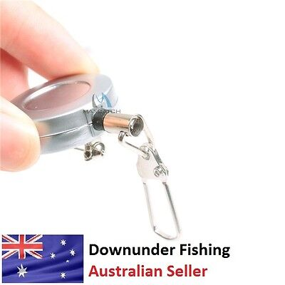 Zinger For Fly Fishing - For Line Clippers And Various Tools