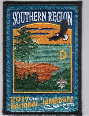 2017 Boy Scout National Jamboree SOUTHERN REGION Subcamp D Patch