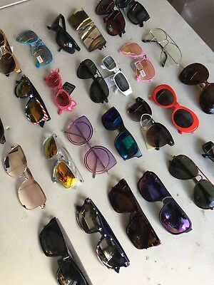 Lot of 120 Assorted Wholesale Mens Womens & Kids Fashionable Sunglasses Limited