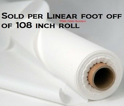 "108"" Translucent Fabric Projection DIY home movie screen material SOLD PER FOOT"