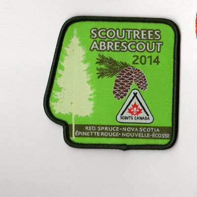 Scoutrees/Trees for Canada Scouts Canada 2014