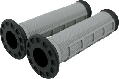 Renthal Dual Compound Grips Soft/Firm - Black G168