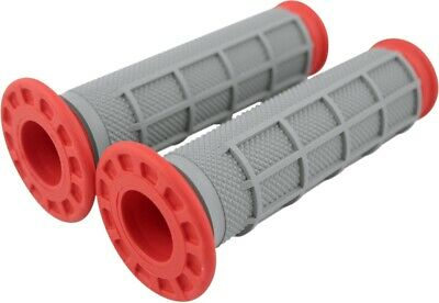 Renthal Dual Compound Grips Soft/Firm - Red G169