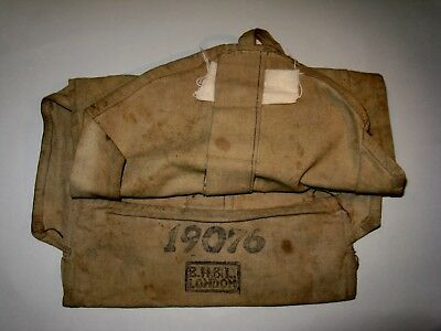 WW1-WW2  British soldiers personal equipment holdall