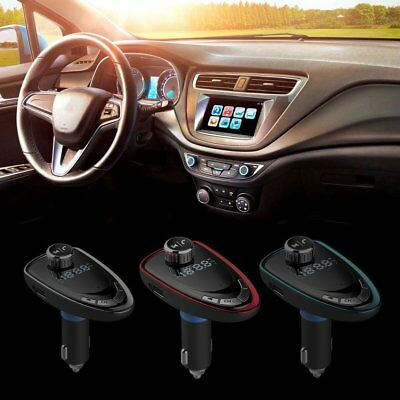 Car MP3 Player Wireless Bluetooth FM Transmitter W/ USB Charger Hands Free LOTUU