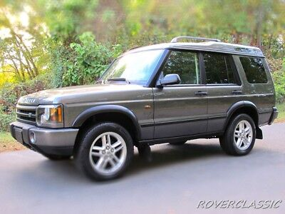 2003 Land Rover Discovery II SE7 2003 LAND ROVER DISCOVERY II SE7  ... 94,411 Original Miles 7 PASSENGER