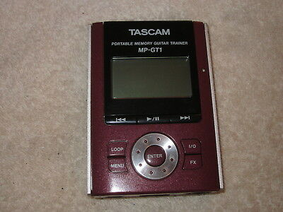 Tascam Mp-Gt1 Portable Memory Guitar Trainer With Box
