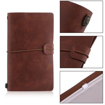 Portable Students School Writing Notebook Travel Diary Journal Planner Agenda GT