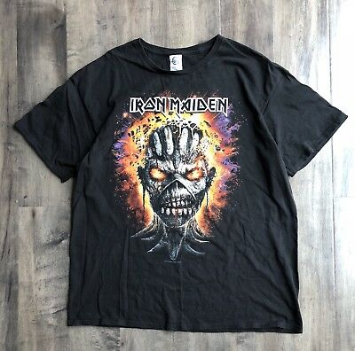 Iron Maiden Book of Souls 2016 Tour T-Shirt XL
