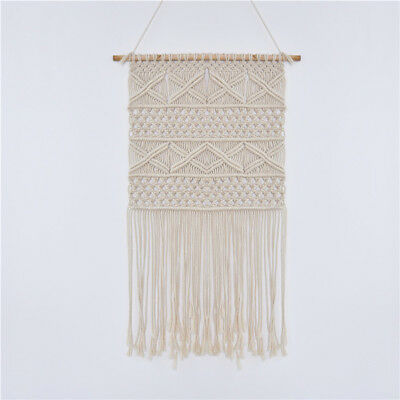 Macrame Wall Hanging Tapestry Boho Cotton Rope Bohemian Handmade Room Home Decor