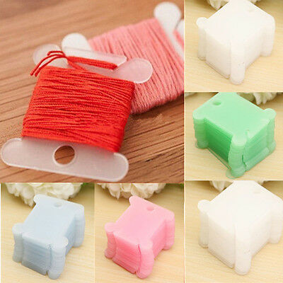 10X Plastic Cross Stitch Winding Wire Board Embroidery Sewing Supply Tool Craft