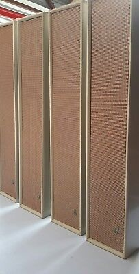 VINTAGE PHILIPS column PA speaker fitted with 6 ROLA 4 inch speakers x 4 boxes