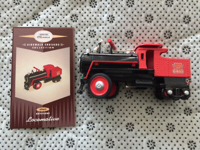 KIDDIE CAR CLASSICS; 1941 KEYSTONE LOCOMOTIVE; Sidewalk Cruisers Collection