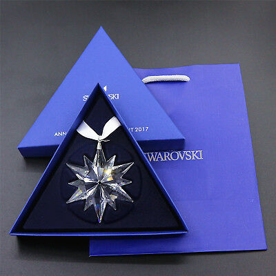 1 Set SWAROVSKI CRYSTAL 2017 ANNUAL EDITION LARGE CHRISTMAS ORNAMENT #5257589