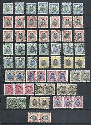 Siam/thailand.    K. Bhumipol 6 Issue Used In Numbers 1971