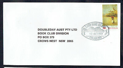 Pictorial Postmark on Commercial Cover ~ Lord Howe Island ~ 13 Oct 1989