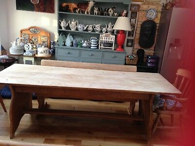 Old Refectory Oak Table