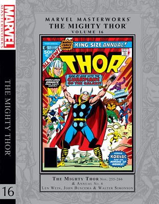 Marvel Masterworks Vol 251 The Mighty Thor Vol 16 Guardians Of The Galaxy