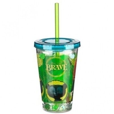 Disney / Pixar BRAVE Movie Exclusive Tumbler with Straw. Delivery is Free