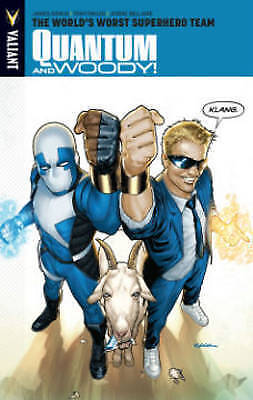 Quantum and Woody Volume 1: The World's Worst Superhero Team by James Asmus (Pap