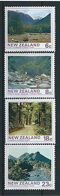 New Zealand SG1075-1078 1975 Forest Park Scenes Unhinged Mint