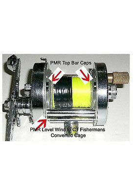 Pmr Fishermans Levelwind To Ct Bar Convertion Kit - Fits Abu 5500 & 6500