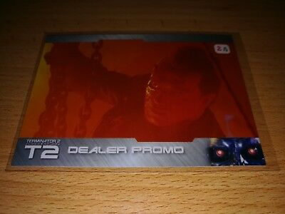 Terminator 2 Dealer Promo Card MB1 color only 5 exists by Unstoppable Cards 2017