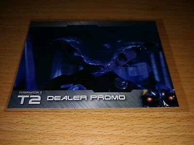 Terminator 2 Dealer Promo Card MB2  only 20 exists by Unstoppable Cards 2017