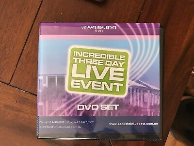 DYMPHNA BOHOLT ULTIMATE REAL ESTATE THREE DAY EVENT - 15 DVD's & WORKBOOK