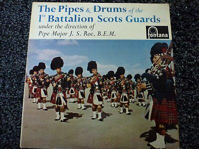 The Pipes and Drums of the 1st Battalion Scots Guards Vinyl LP