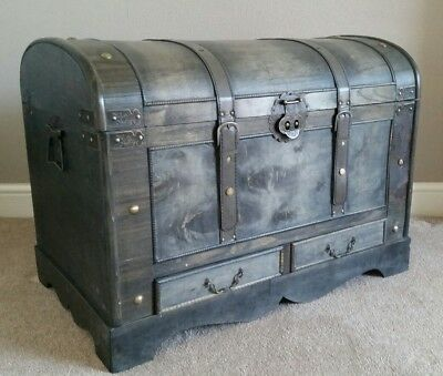 Dome Topped Antique Effect Trunk