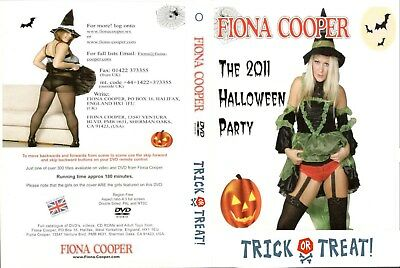 Fiona cooper THE 2011 HALLOWEEN PARTY coster DVD