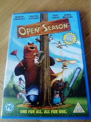 Open Season  Dvd One Fur All All Fur One ## Ace##
