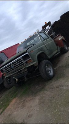 American wrecker truck, recovery, f150, project spares/repair Harvey frost crane