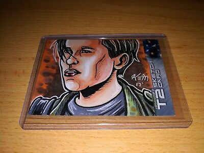 Terminator 2 Kevin Meinert Sketch Card by Unstoppable Cards 2017
