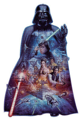 16158 Ravensburger Darth Vader 1000Pc Silhouette Puzzle  [Adult Jigsaw Puzzle]
