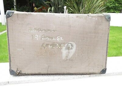 Vintage late 1940's suitcase - authentic theatre prop or for display