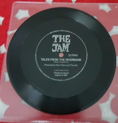 THE JAM rare Fexi disc Tales from the riverbank  Weller Mod Revival New wave.