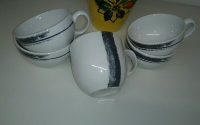Denby White Cups nice for Christmas.