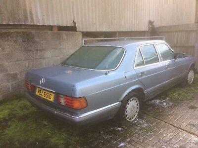 Mercedes Benz 420 SE  to include private number plate