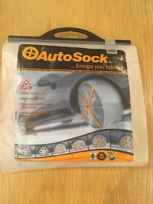 AutoSock 580 Winter Traction Aid snow Christmas brand new