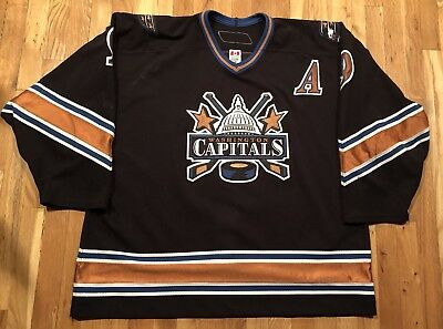 Danius Zubrus Washington Capitals Game worn Jersey