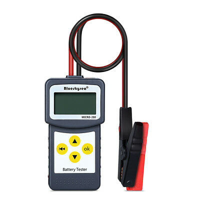 LCD12V Car Battery Load Tester Analyzer Digital Diagnostic AGM CCA GEL Micro-200