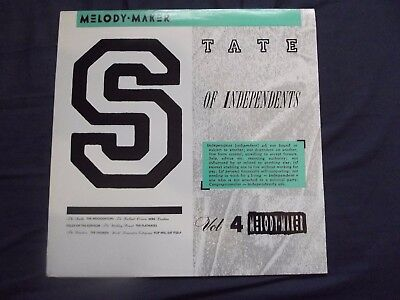 V/A 'THE STATE OF INDEPDENDENTS' VOL 4.w CARDIACS,SMITHS,WIRE,WEDDO'S,NEPHILIM