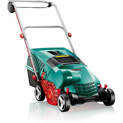 Bosch Lawn Rake Powerful Compact Electric Verticutter w Large 50L Collection Box