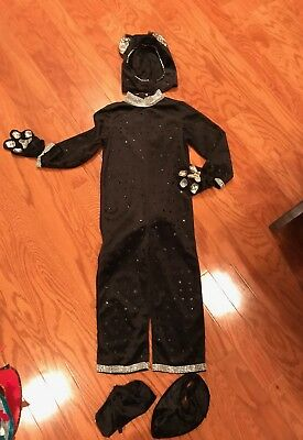 Black Cat Youth Halloween Costume
