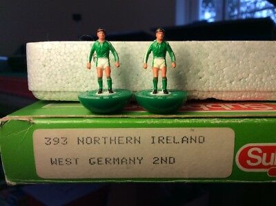 Subbuteo LW Team - W.Germany 2nd N.Ireland Ref 393. Good Condition. Rare