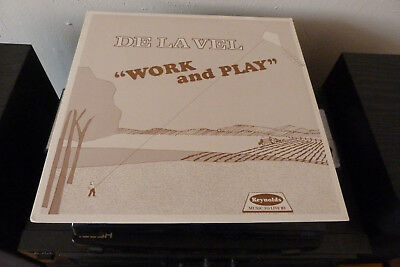 De La Vel - Work And Play (LP, Private Synth Boogie Funk Electro, 1988)